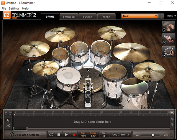 tutorial-ezdrummer-home