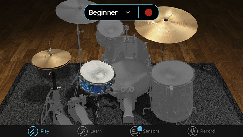 beginner-senstroke-screen-app