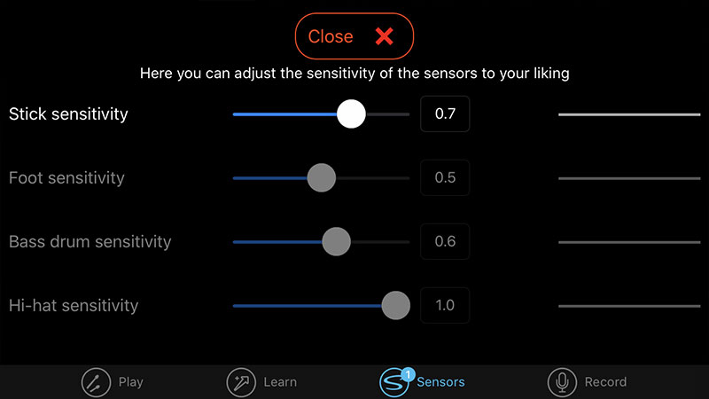 senstroke-settings-app
